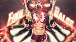 Demon King Finn Balor WWE Wrestling Universal Champ Prince Devitt Bullet Club NXT 1920x1080 Wallpaper