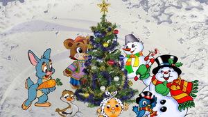 Christmas Tree 1440x900 wallpaper