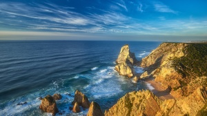 Coast Portugal Rock 2048x1367 Wallpaper