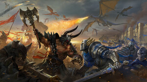 Dragon Knight Warrior 1920x1082 Wallpaper
