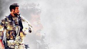 Soldier Bradley Cooper American Sniper 1600x900 wallpaper