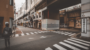 Japan Crosswalk Pedestrian Photography 3200x2136 Wallpaper