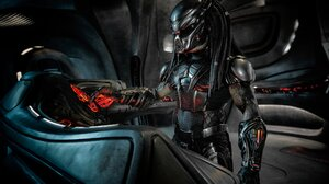 Alien Predator Sci Fi The Predator Movie 2047x1363 Wallpaper