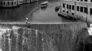Photography Monochrome Photo Manipulation Clouds Portrait Display Venezia Canal Grande Venice Italy  1500x1922 Wallpaper