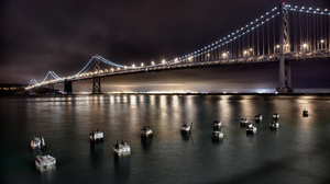 Bay Bridge San Francisco 1680x1050 wallpaper