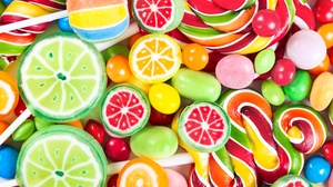 Candy Colorful Lollipop Sweets 4800x3200 wallpaper