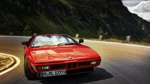 Bmw Bmw M1 Car Red Car Sport Car 4096x2730 Wallpaper