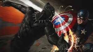 Black Panther Marvel Comics Captain America 3840x2160 Wallpaper