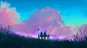 Cloud Couple 3840x2160 Wallpaper