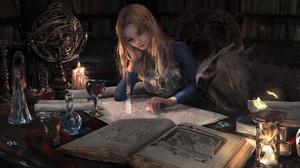 Nixeu League Of Legends Video Games Artwork Women Indoors Blonde Video Game Art Fan Art Video Game G 7000x3675 Wallpaper