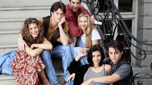 Chandler Bing Courteney Cox David Schwimmer Friends Tv Show Jennifer Aniston Joey Tribbiani Lisa Kud 1920x1440 Wallpaper