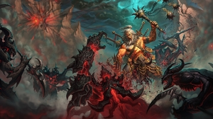 Barbarian Diablo Iii Diablo Iii 1920x1304 Wallpaper