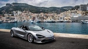 Car Mclaren Mclaren 720s Monaco Silver Car Sport Car Supercar Vehicle 8213x5475 Wallpaper