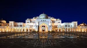 Architecture Dome Palace Qasr Al Watan United Arab Emirates 1920x1080 wallpaper