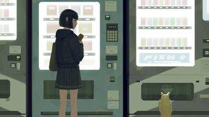 GUWEiZ Digital Art Artwork Drawing Anime Cats 3148x4096 Wallpaper
