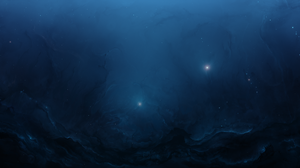 Blue Cosmos Space Stars 6192x2880 wallpaper