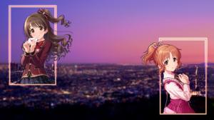 THE IDOLM STER Cinderella Girls Uzuki Shimamura Anime Girls Los Angeles Picture In Picture 1920x1080 wallpaper