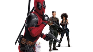 Cable Marvel Comics Deadpool 2 Domino Marvel Comics Josh Brolin Ryan Reynolds Zazie Beetz 3840x2400 wallpaper