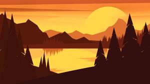 Landscape Mountain 3840x2160 Wallpaper