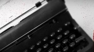 Man Made Typewriter 2560x1024 Wallpaper