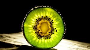Kiwi Fruit Vibrant Green 1920x1080 Wallpaper