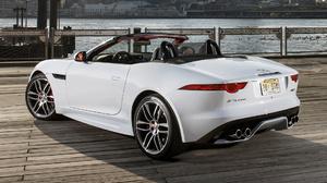 Car Convertible Grand Tourer Jaguar F Type R Convertible White Car 1920x1080 Wallpaper