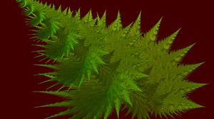 Green Chaoscope Software Christmas Tree Thorns 1600x1200 Wallpaper