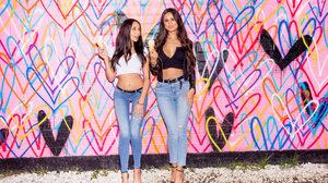 Women Dark Hair Latinas Jeans Ice Cream Unbuttoned 3000x2000 Wallpaper