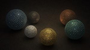 Abstract Ball 2560x1440 wallpaper