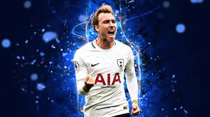 Christian Eriksen Danish Soccer Tottenham Hotspur F C 2880x1800 Wallpaper