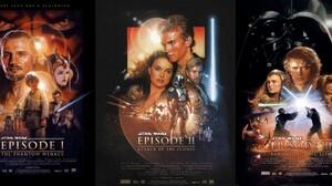 Anakin Skywalker Blue Lightsaber C 3po Darth Maul Darth Vader Emperor Palpatine Green Lightsaber Jan 4487x2100 Wallpaper