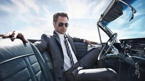 Actor American Chris Pine Suit Sunglasses 2422x1600 Wallpaper
