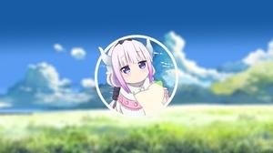 Pink Hair Avatar Kobayashi San Chi No Maid Dragon Kanna Kamui Kobayashi San Chi No Maid Dragon Pictu 2560x1440 Wallpaper