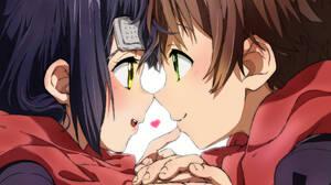 Chuunibyou Demo Koi Ga Shitai School Uniform JK Couple Short Hair Ahoge Eye Patch Anime Girls Anime  2480x3508 Wallpaper