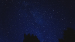 Starry Sky 1920x1080 Wallpaper