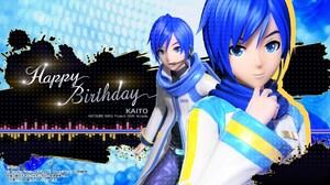 Happy Birthday Kaito Vocaloid 1920x1080 wallpaper