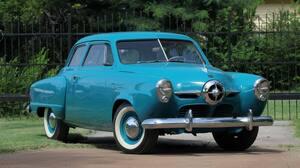 Vintage Car Old Car Blue Car Car 4000x2666 Wallpaper