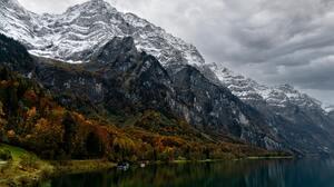 Landscape Switzerland Lake Mountains 9376x6336 wallpaper