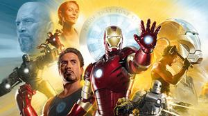 Iron Man Pepper Potts Tony Stark 2560x1440 Wallpaper
