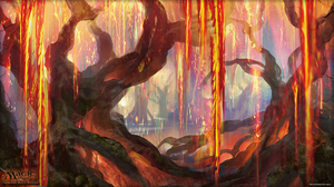 Grove Of The Burnwillows Magic The Gathering 1920x1080 Wallpaper