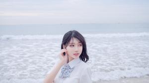 Skirt Asian Zhou Ying 4024x6048 wallpaper