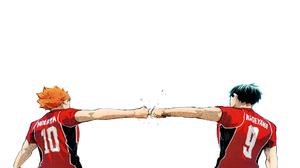 Haikyuu Haikyuu Anime Anime Boys Sport Sports White Background Simple Background 1920x1080 Wallpaper