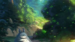 Anime Girls Studio Ghibli Nature Totoro My Neighbor Totoro 1089x1500 Wallpaper