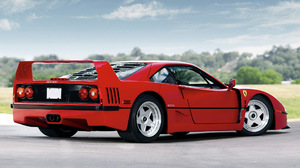 Car Ferrari F40 Red Car Sport Car Supercar 1920x1080 Wallpaper