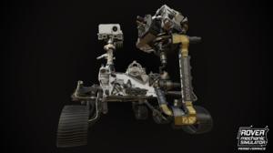 Perseverance Mars Robot Mars Rover Rover NASA Curiosity Video Game Art 7680x4320 Wallpaper