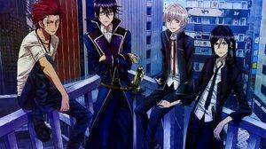 K Project Anime Boys Isana Yashiro Yatogami Kuroh 1920x1338 wallpaper
