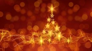 Christmas Christmas Tree Light Star 6000x4000 Wallpaper