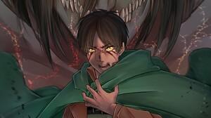 Attack On Titan Eren Yeager Titan 2880x1800 Wallpaper