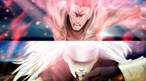 Naruto Might Guy Madara Uchiha 3842x2400 Wallpaper