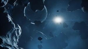 Space Delamar Star Citizen Levski Star Citizen Asteroid 3840x2160 Wallpaper